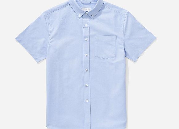 Saturdays NYC ESQUINA Oxford SS Shirt |  blue