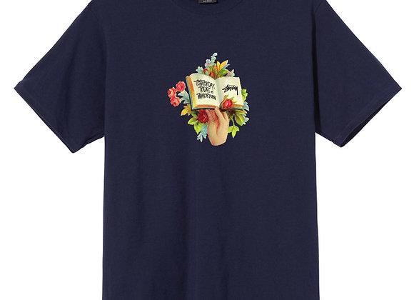Stussy HANDBOOK S/S T-Shirt | navy