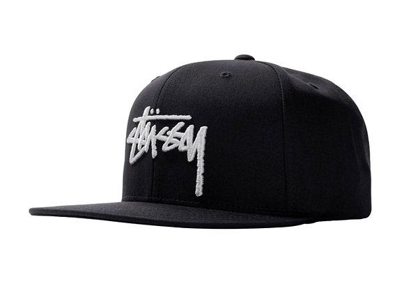 Stussy STOCK CAP Snapback   black
