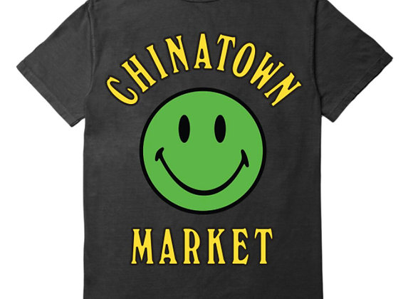 Chinatown Market SMILEY T-Shirt | black