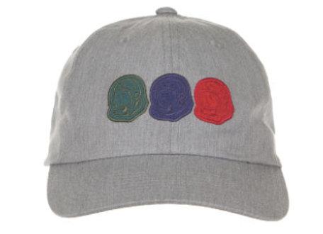 Billionaire Boys Club TRIP 3S Dad Hat   h. grey