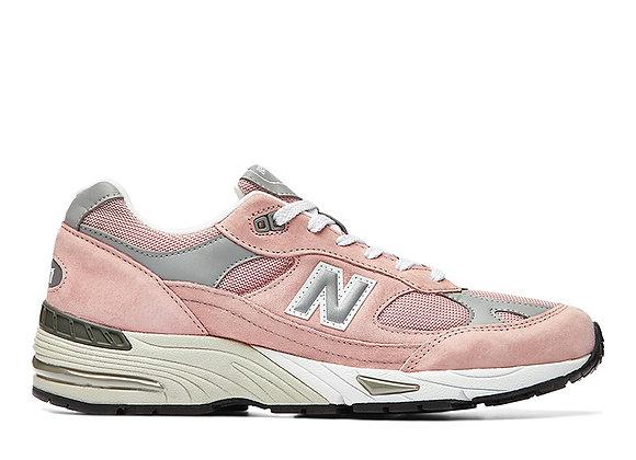New Balance M991PNK Sneakers | pink/grey/white