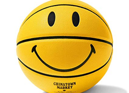 Chinatown Market SMILEY Basketball | yellow