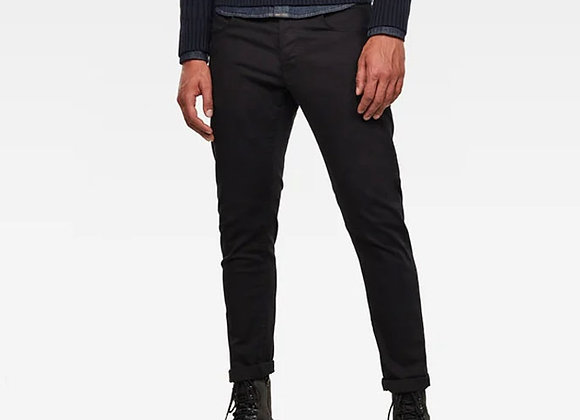 G-Star 3301 Slim Fit Denim | rinsed black