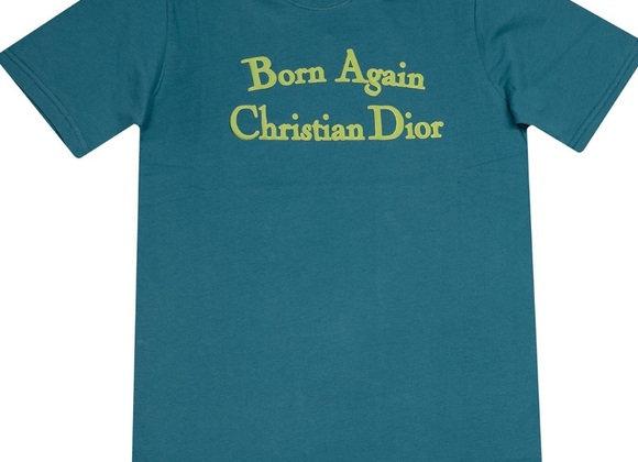 Chinatown Market BORN AGAIN T-Shirt | teal/blue