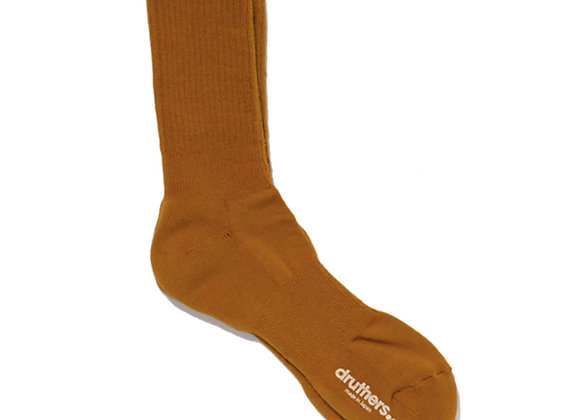 Druthers NYC EVERYDAY Organic Cotton Crew Socks | camel