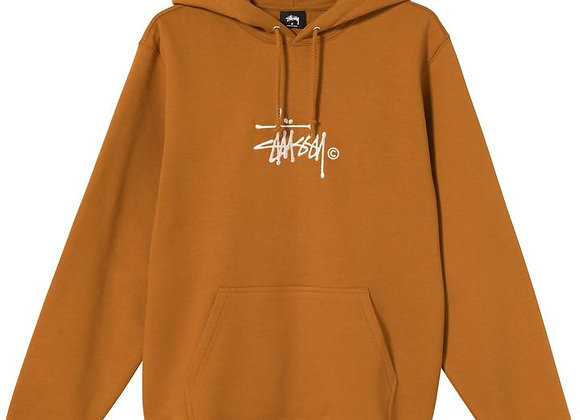 Stussy COPYRIGHT Stock Embroidered Hoodie | caramel