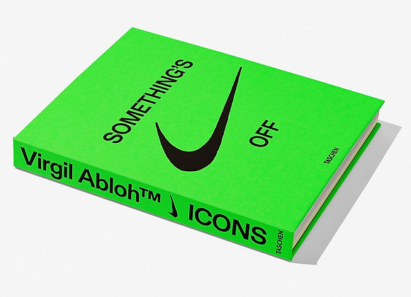 Nike Virgil Abloh SOMETHING'S OFF Icon's Book