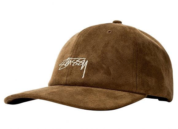 Stussy Microfiber Low Pro Cap | brown