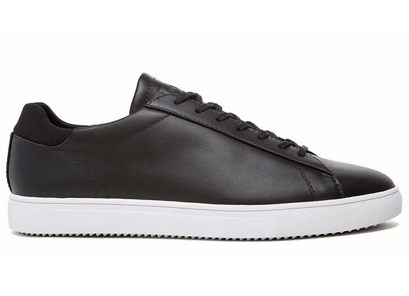 Clae BRADLEY | black milled tumbled leather