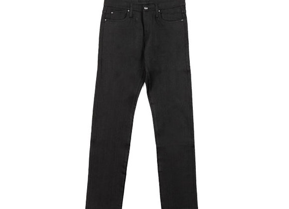 The Unbranded Brand UB144 Skinny Fit 11oz Stretch Denim   black