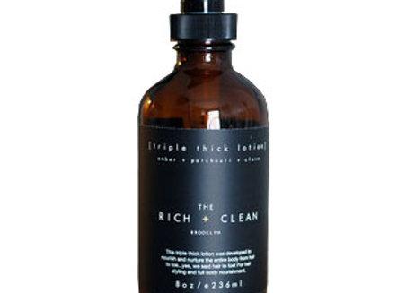 the Rich + Clean TRIPLE THICK Lotion | 8oz