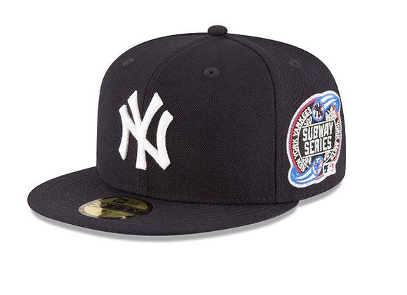 New Era NY YANKEES 2000 SUBWAY Series  5950 Hat | navy