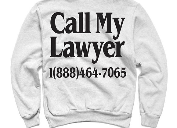 Chinatown Market LEGAL SERVICES Sweatshirt | h. grey