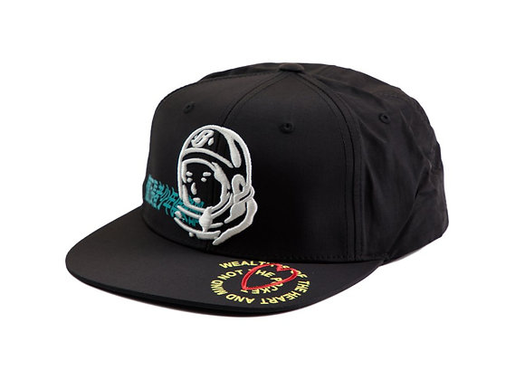 Billionaire Boys Club BB WEALTH Snapback Hat | black