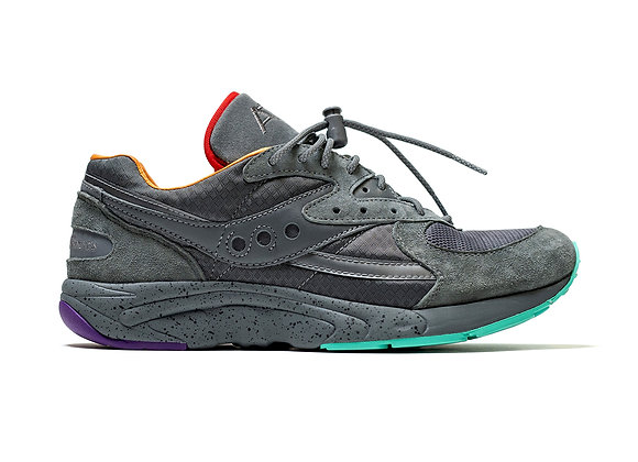 Saucony X Raised By Wolves ASPHALT JUNGLE Aya Sneakers | grey