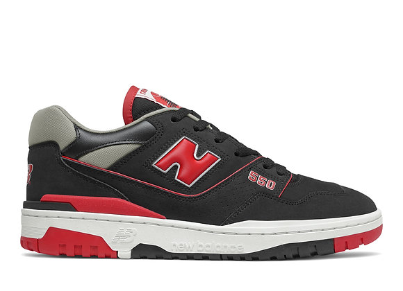 New Balance BB550SG1 Sneakers | black/red