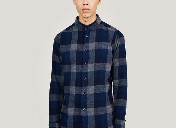 Native Youth UK CLYDE Flannel Shirt | blue
