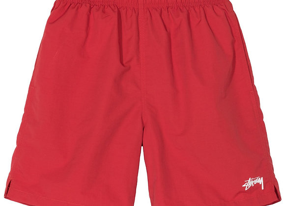 Stussy Stock Water Short | red