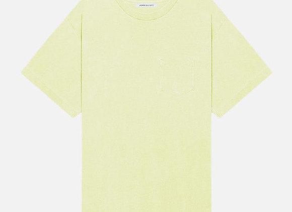 John Elliott LUCKY Pocket T-Shirt | toxic yellow
