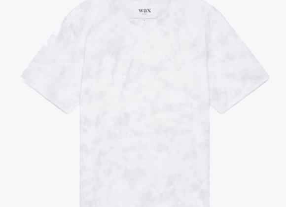 Wax London REID Tie-Dye T-Shirt | violet/grey