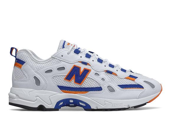 New Balance ML827AAA Sneakers | white/blue/orange