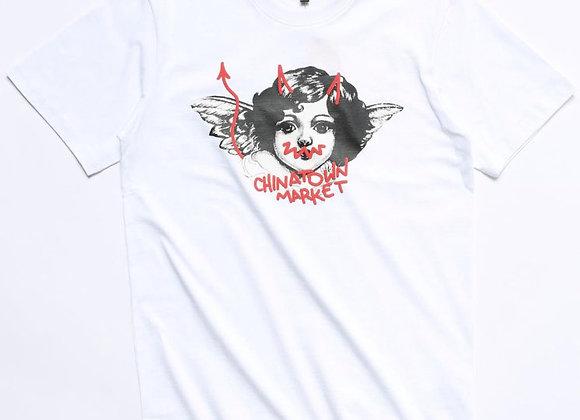 Chinatown Market ANGEL T-Shirt | white