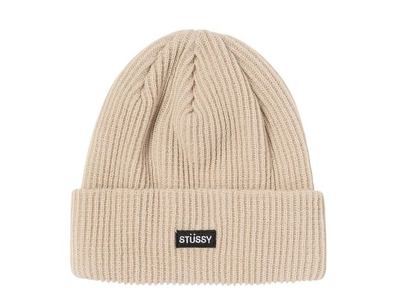 Stussy Small Patch Watchcap Beanie | tan