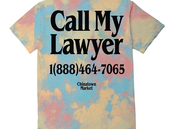 Chinatown Market LAWYER T-Shirt | tie dye