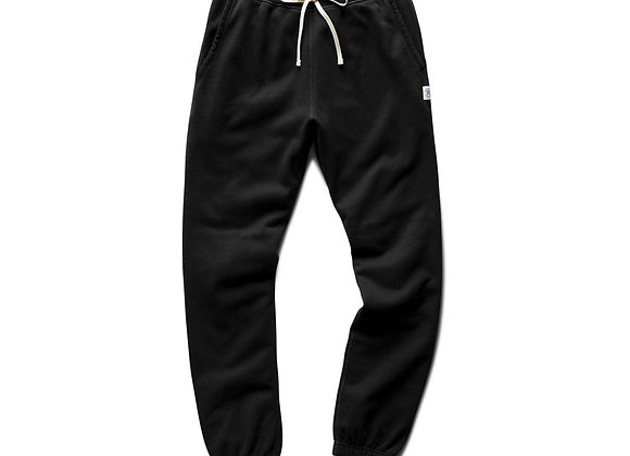 Reigning Champ CUFFED Sweatpant | black