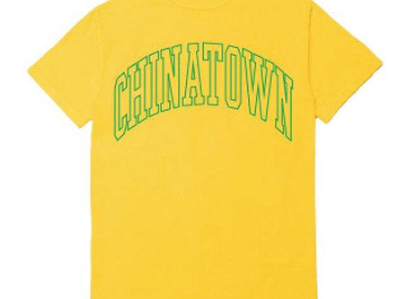 Chinatown Market UV ARC LOGO T-Shirt | yellow