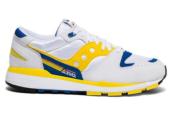 Saucony AZURA Sneaker | white/yellow/blue