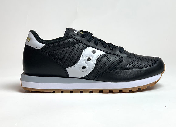 Saucony Jazz Originals LEATHER | black perforated