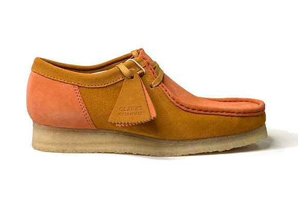 Clarks Originals WALLABEE | orange combi