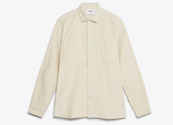 Wax London WHITING Shirt | oyster grey