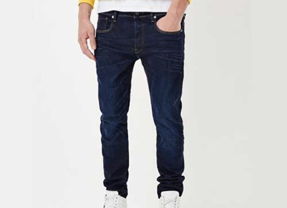 G-Star 3301 HYDRITE Stretch Denim | blue aged