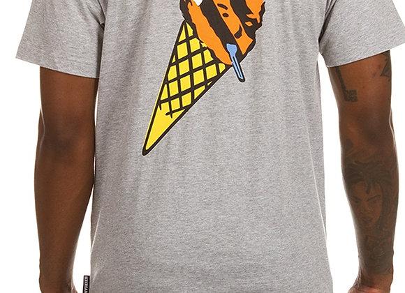 Ice Cream POCKET S/S T-Shirt | h. grey