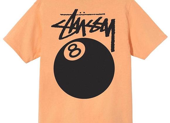 Stussy 8-BALL T-Shirt   peach