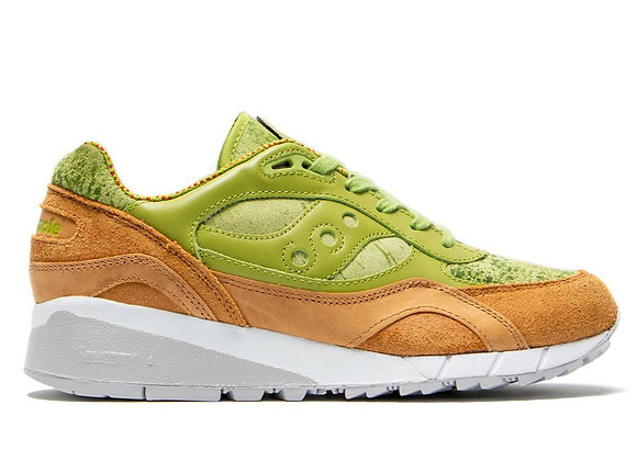 Saucony SHADOW 6000 AVOCADO TOAST | guac green/tan
