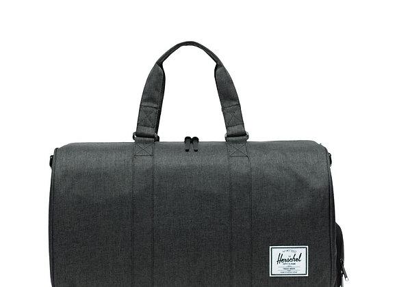 Herschel NOVEL Duffle bag | black crosshatch