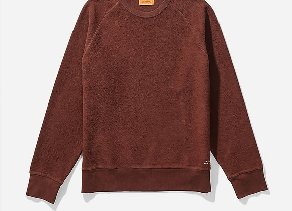 Saturdays NYC SIMON REVERSE Fleece Sweatshirt | merlot