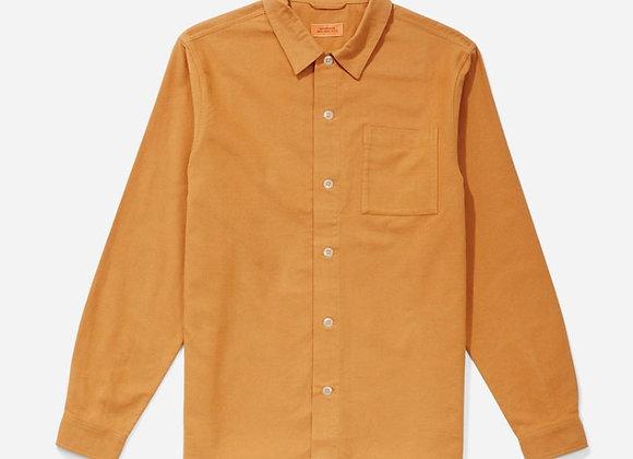 Saturdays NYC ALESSANDRO Flannel L/S Shirt | saffron