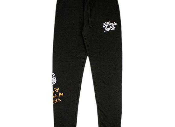 Billionaire Boys Club WEALTH Sweatpants | black