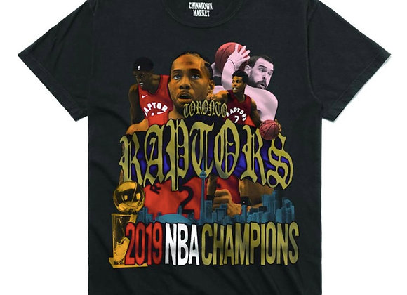 Chinatown Market RAPTORS T-Shirt | black