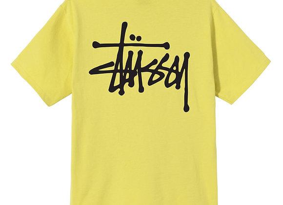 Stussy BASIC STUSSY T-Shirt | lemon
