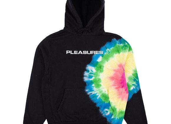 Pleasures ECLIPSE Embroidered Hoodie | black