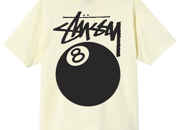 Stussy 8-BALL T-Shirt   pale yellow