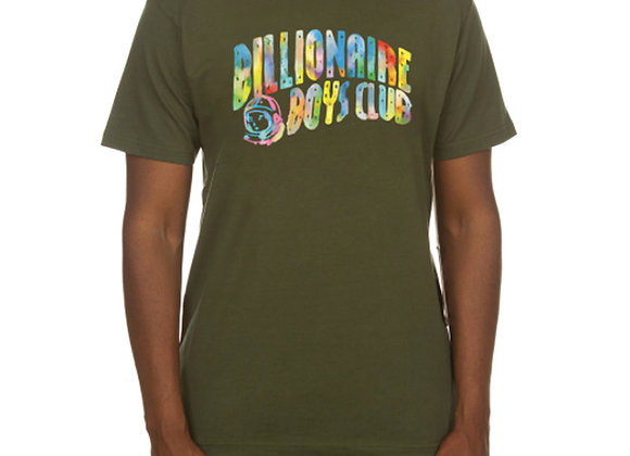 Billionaire Boys Club WATERCOLOR S/S T-Shirt   o drab green