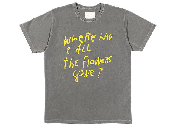 CRTFD FLOWERS GONE T-Shirt   grey