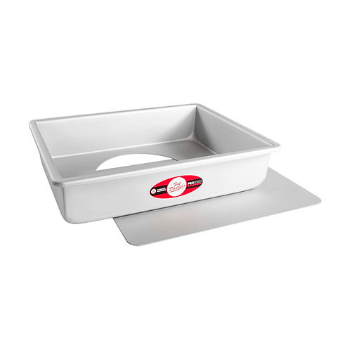 "Sheet cheesecake pan removable bottom 9""x13""x3"""
